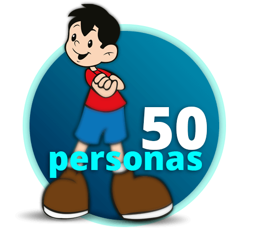 50 personas